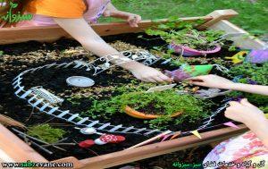 باغبانی و آثار شناخت گیاهان توسط کودکان